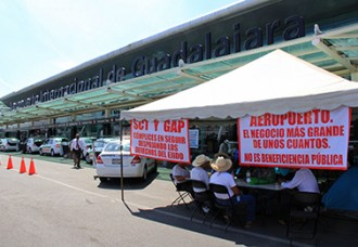 Airport blockade dates back  to six-decade-old land dispute